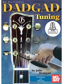 Julie Henigan: DADGAD Tuning (Book/Online Audio) Books and Digital Audio | Guitar