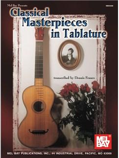 Classical Masterpieces in Tablature Books | Guitar, Guitar Tab