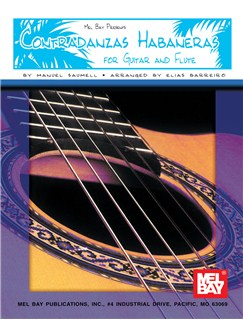 Contradanzas Habaneras for Guitar and Flute Books | Guitar