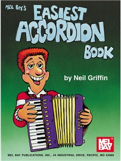 Neil Griffin: Easiest Accordion Book Books | Accordion