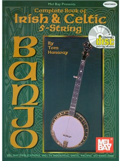 Tom Hanway: Complete Book of Irish & Celtic 5-String Banjo Books and CDs | Banjo, Banjo Tab