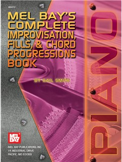 Complete Improvisation, Fills & Chord Progressions Book Books | Piano