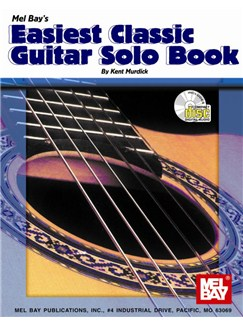 Easiest Classic Guitar Solo Books and CDs | Guitar