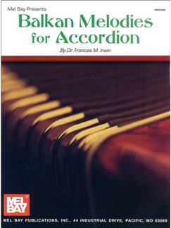 Dr. Frances M. Irwin: Balkan Melodies for Accordion Books | Accordion