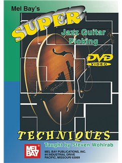 Super Jazz Guitar Picking Techniques DVDs / Videos | Guitar
