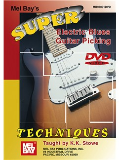 Super Electric Blues Guitar Picking Techniques DVDs / Videos | Guitar