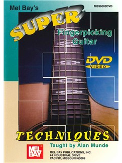 Super Fingerpicking Guitar Techniques DVDs / Videos | Guitar