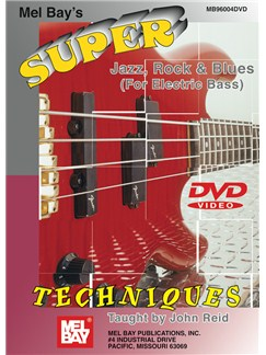 Super Jazz, Rock And Blues Techniques For Electric Bass DVDs / Videos | Bass Guitar