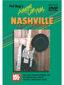 Anyone Can Play Nashville Lead Guitar DVDs / Videos | Guitar, Guitar Tab