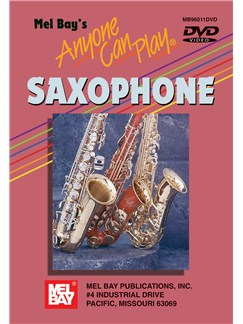 Anyone Can Play Saxophone Saxophone (Alto) Dvd DVDs / Videos |