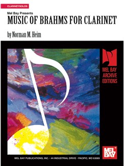 Music of Brahms for Clarinet Books | Clarinet