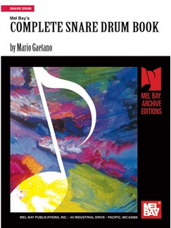 Complete Snare Drum Book Books | Snare Drum