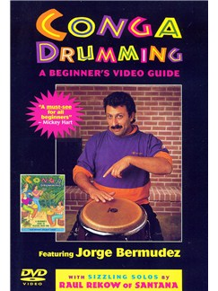 Conga Drumming: A Beginner's Guide to Playing With Time DVDs / Videos | Percussion
