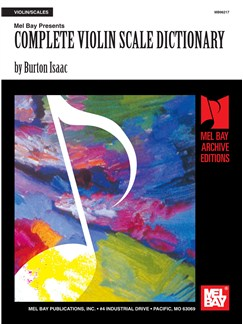 Complete Violin Scale Dictionary Books | Violin