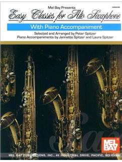 Easy Classics for Alto Saxophone Books | Alto Saxophone