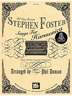 Stephen Foster Songs For Harmonica Books | Harmonica