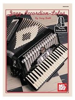 Jazz Accordion Solos (Book/Online Audio) Books   Accordion