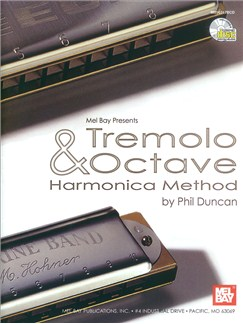 Phil Duncan: Tremolo And Octave Harmonica Method Books and CDs | Harmonica