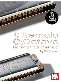 Tremolo And Octave Harmonica Method Books | Harmonica
