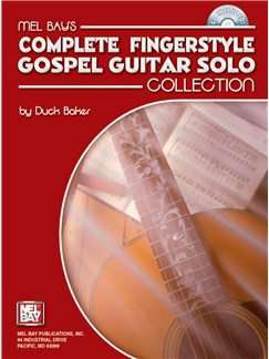 Complete Fingerstyle Gospel Guitar Solo Collection Books and CDs | Guitar, Guitar Tab