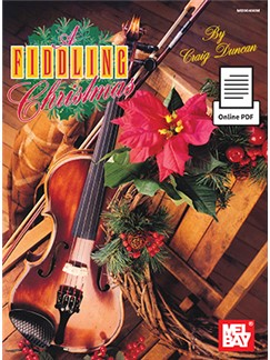 Craig Duncan: A Fiddling Christmas (Book/Online PDF) Books and Digital Audio | Violin, Piano Accompaniment