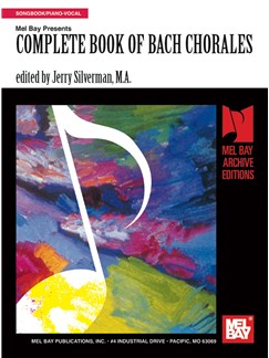 Complete Book of Bach Chorales Books | Piano, Voice