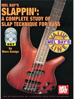 Slappin': A Complete Study Of Slap Technique For Bass Books | Bass Guitar
