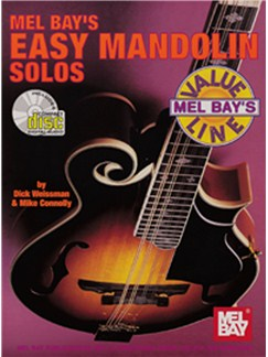 Easy Mandolin Solos Books and CDs | Mandolin