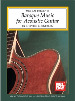 Baroque Music for Acoustic Guitar Books | Guitar