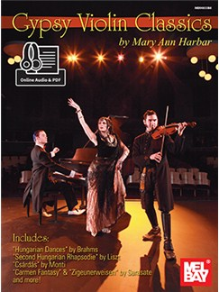 Mary Ann Harbar: Gypsy Violin Classics (Book/Online Audio/PDF Supplement) Books and Digital Audio | Violin