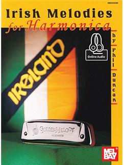 Phil Duncan: Irish Melodies For Harmonica (Book/Online Audio) Books and Digital Audio | Harmonica
