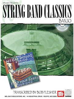 String Band Classics for Banjo Books and CDs | Banjo, Banjo Tab
