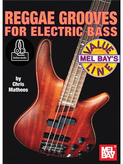 Chris Matheos: Reggae Grooves For Electric Bass (Book/Online Audio) Books and Digital Audio | Bass Guitar