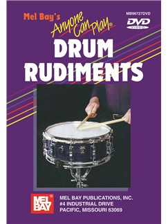 Anyone Can Play Drum Rudiments DVDs / Videos | Drums