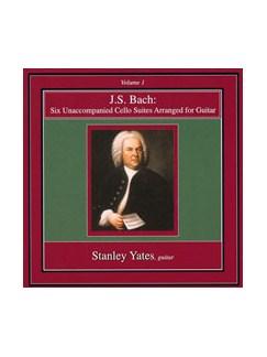 Bach 6 Unaccomp Vlc Suites Gtr Cd DVDs / Videos |