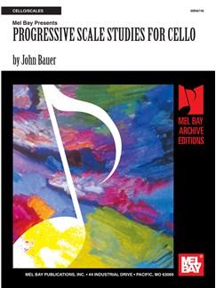 Progressive Scale Studies for Cello Books | Cello