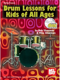 Rob And Mike Silverman: Drum Lessons For Kids Of All Ages Books and CDs | Drums