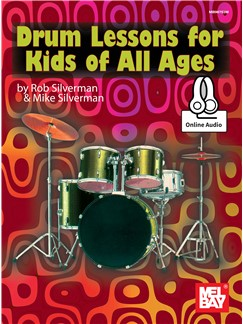 Drum Lessons For Kids Of All Ages (Book/Online Audio) Books | Percussion