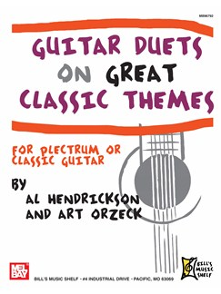 Guitar Duets on Great Classic Themes Books | Guitar