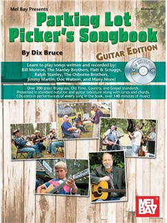 Parking Lot Picker's Songbook - Guitar Edition (Book/2CDs) CD y Libro | Guitarra