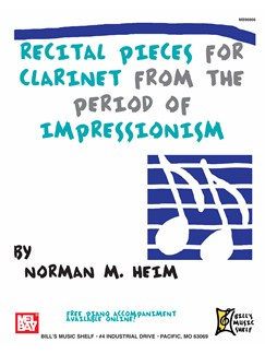 Recital Pieces for Clarinet Books | Clarinet
