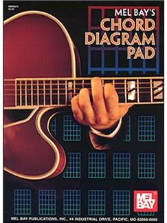 Chord Diagram Pad Gtr Book Books | Guitar