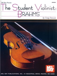 The Student Violinist: Brahms Books | Violin