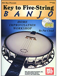 Key to Five-String Banjo Books and CDs | Banjo, Banjo Tab