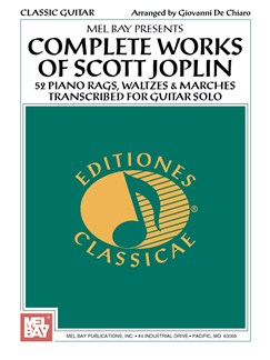 Complete Works Of Scott Joplin For Guitar Books | Guitar