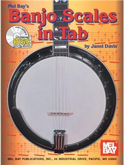Janet Davis: Banjo Scales In Tab Books | Banjo Tab