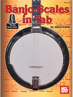 Janet Davis: Banjo Scales In Tab (Book/Online Audio) Books | Banjo