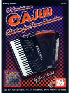 15 Louisiana Cajun Classics for Piano Accordion Books | Accordion