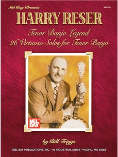 Harry Reser Tenor Banjo Legend Books | Banjo, Banjo Tab
