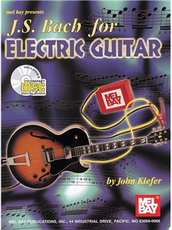 J. S. Bach For Electric Guitar Books | Guitar